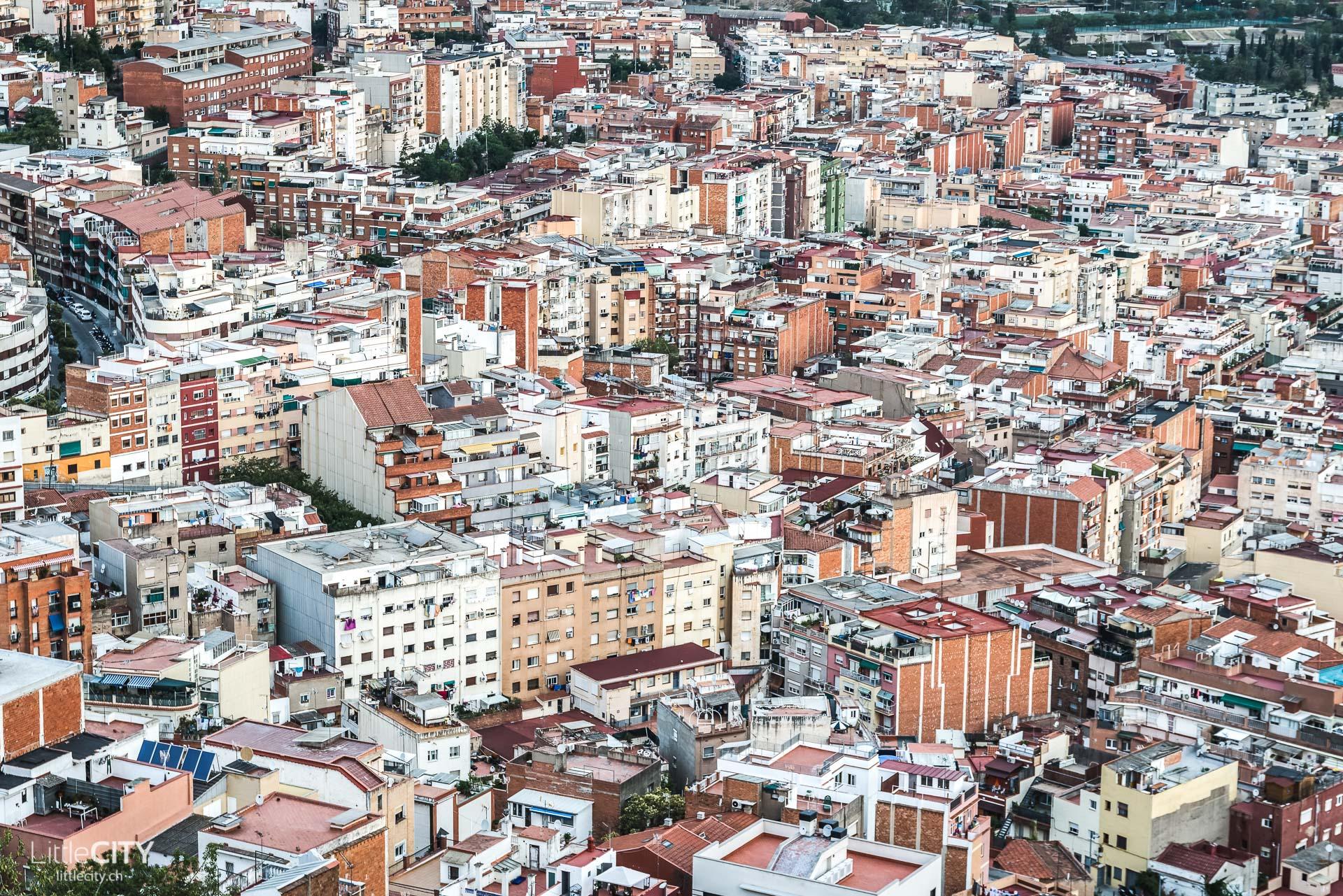 Barcelona Sehenswürdigkeiten Bunkers del Carmel