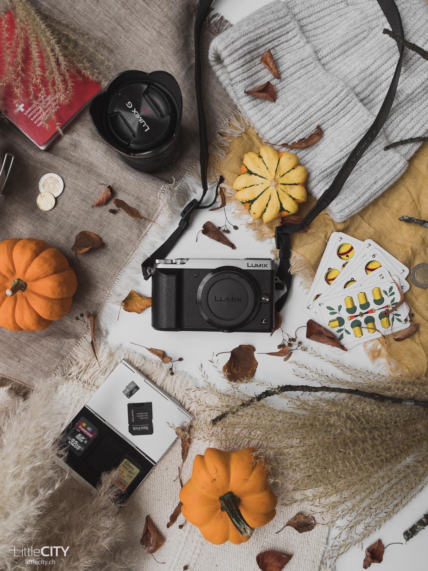 Reiseblogger Fotoausrüstung Lumix GX80
