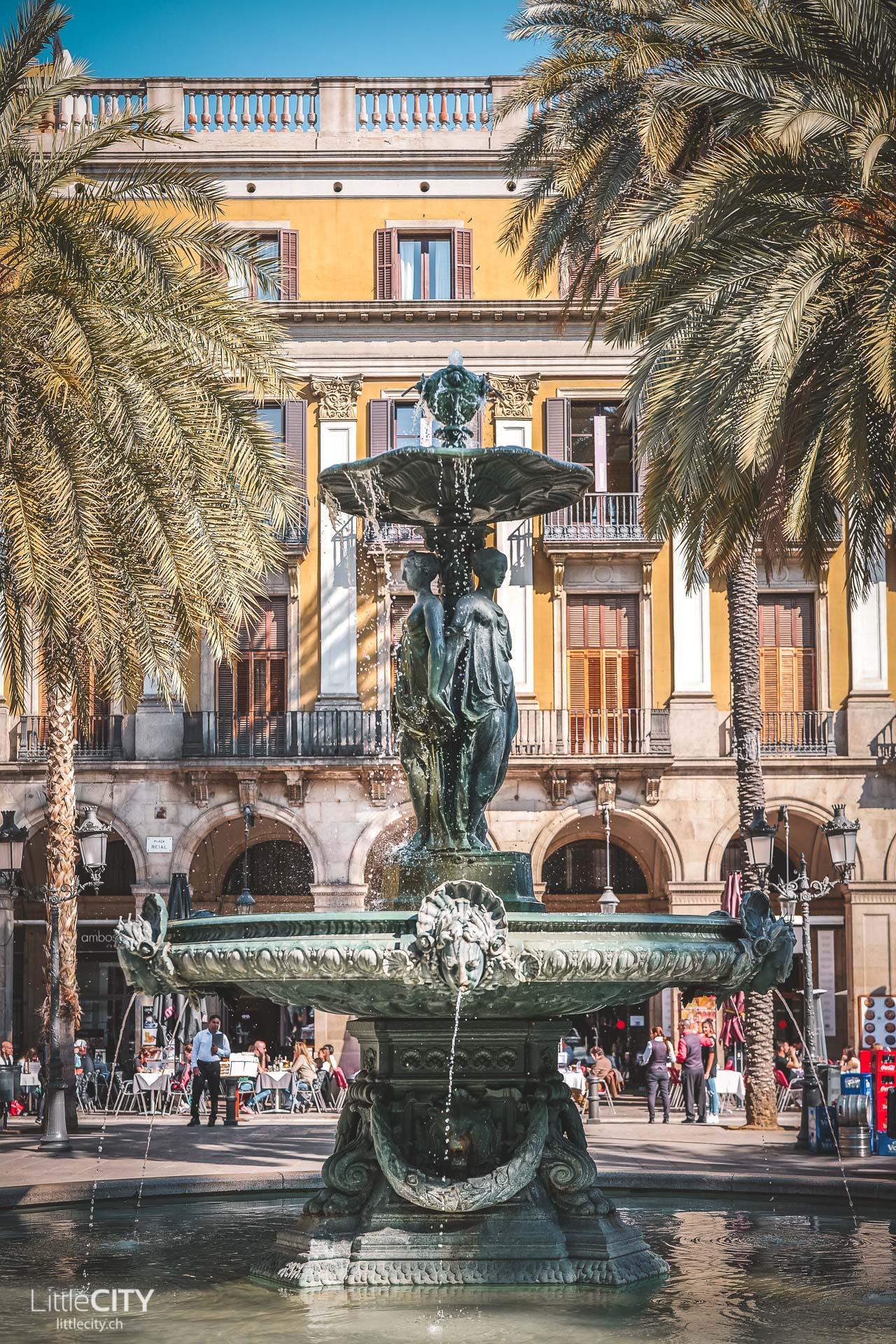 Plaça Reial Barcelona Reisetipps