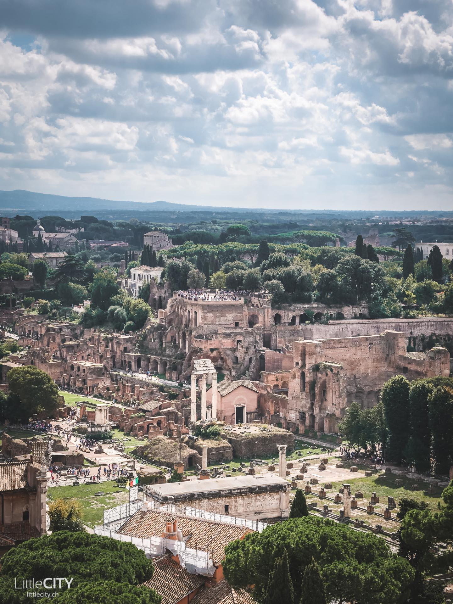 Rom Forum Romanum Sehenswürdigkeiten