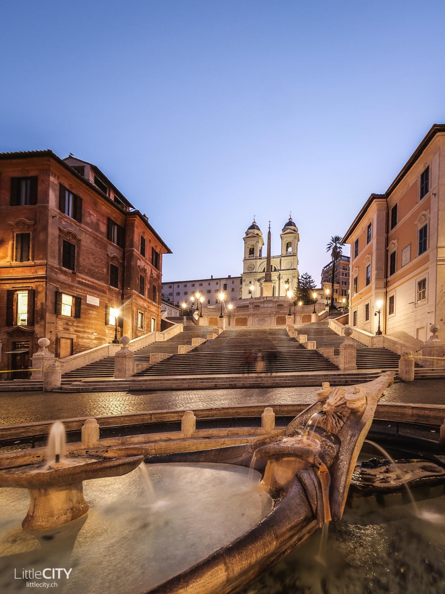 Spanische Treppe Rom top Sehenswürdigkeiten