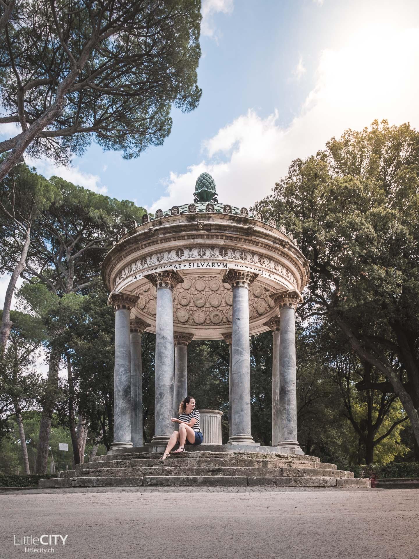 Villa Borghese Rom Geheimtipps