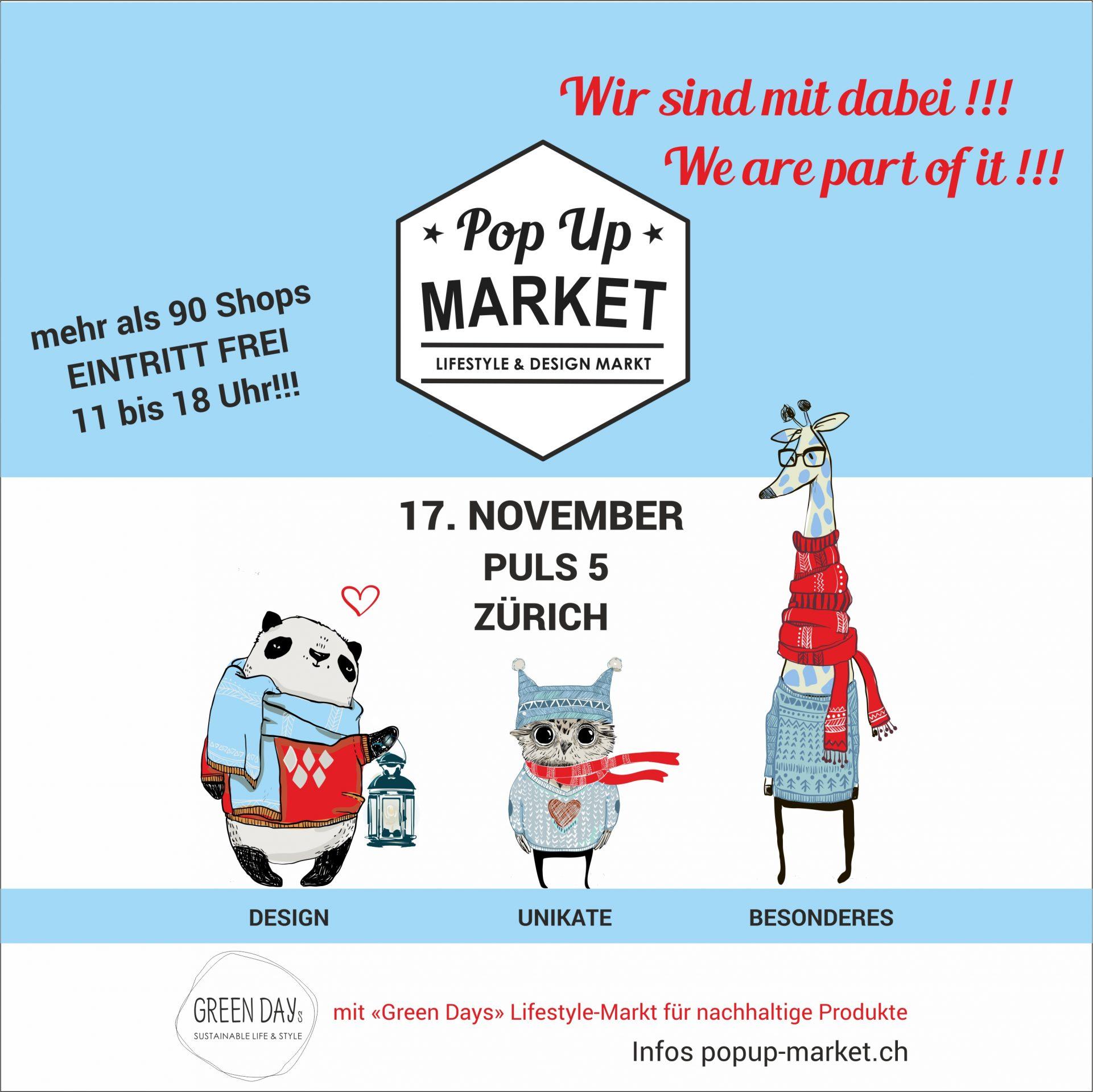 Pop Up Market Puls 5 Zürich LittleCITY