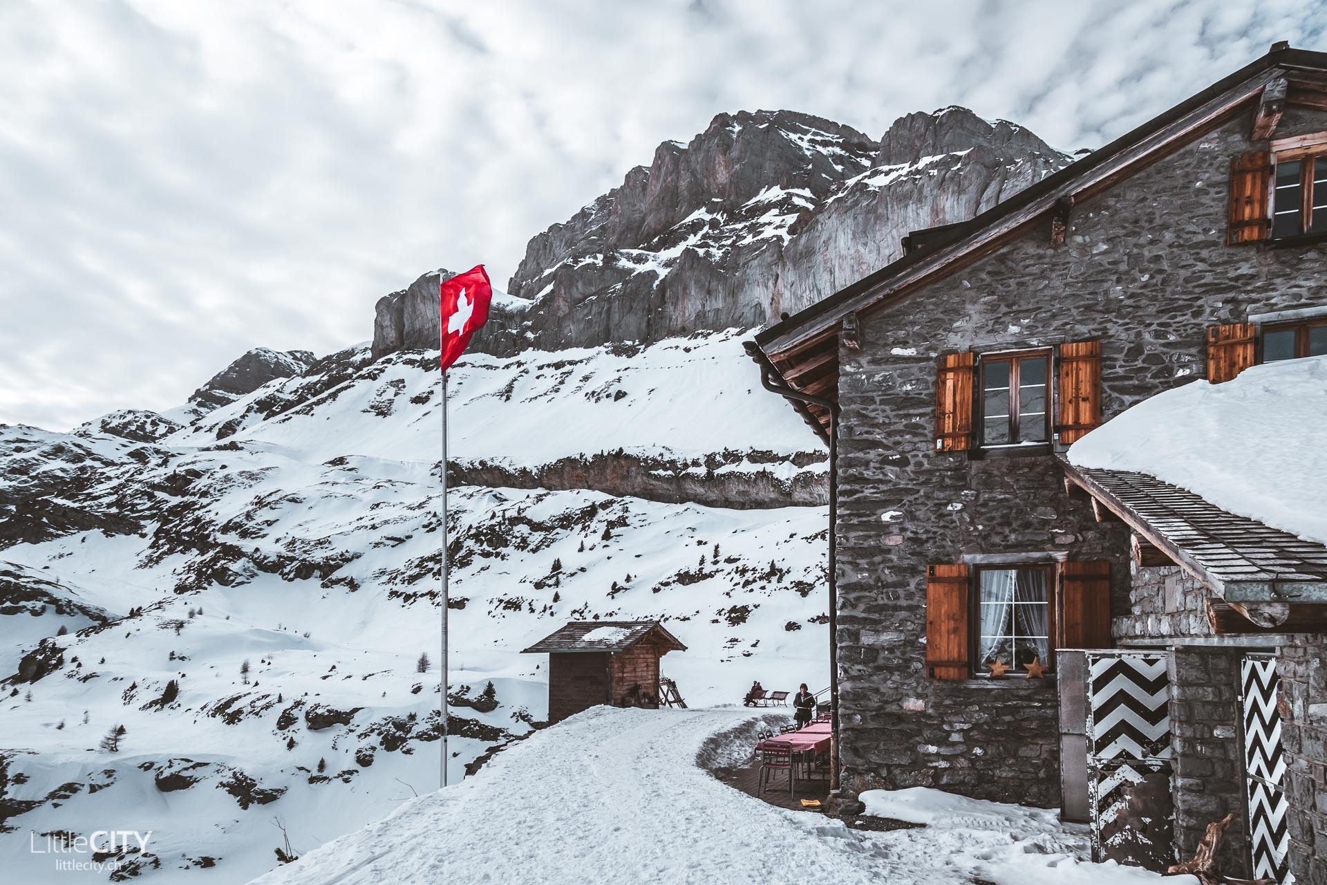 Gemmipass Wanderung Berghotel Warenbach