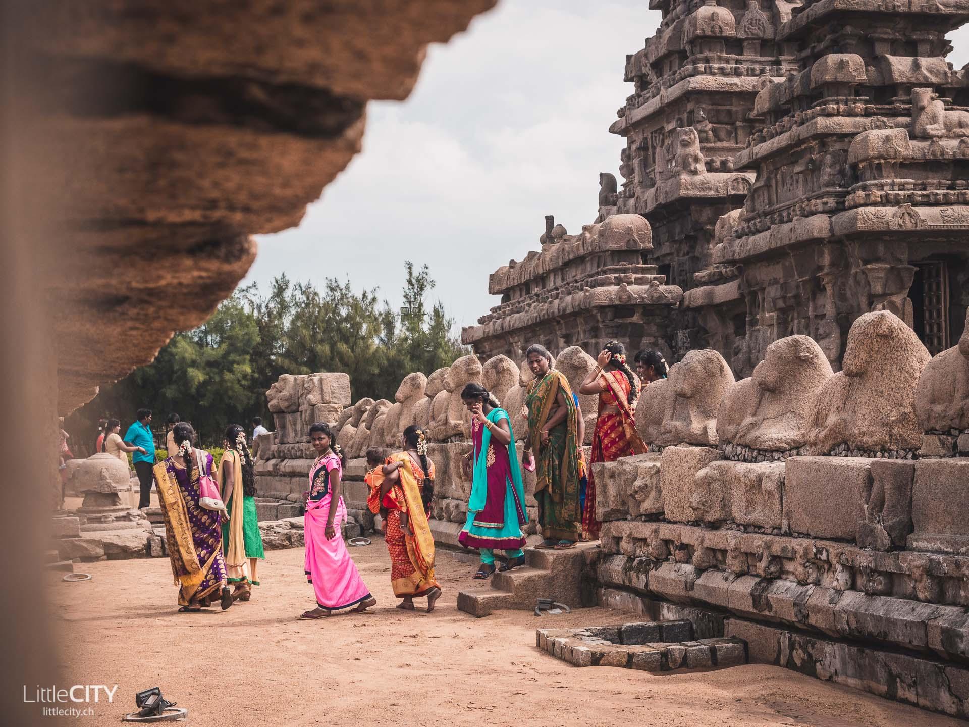 Küstentempel Mahabalipuram Indien