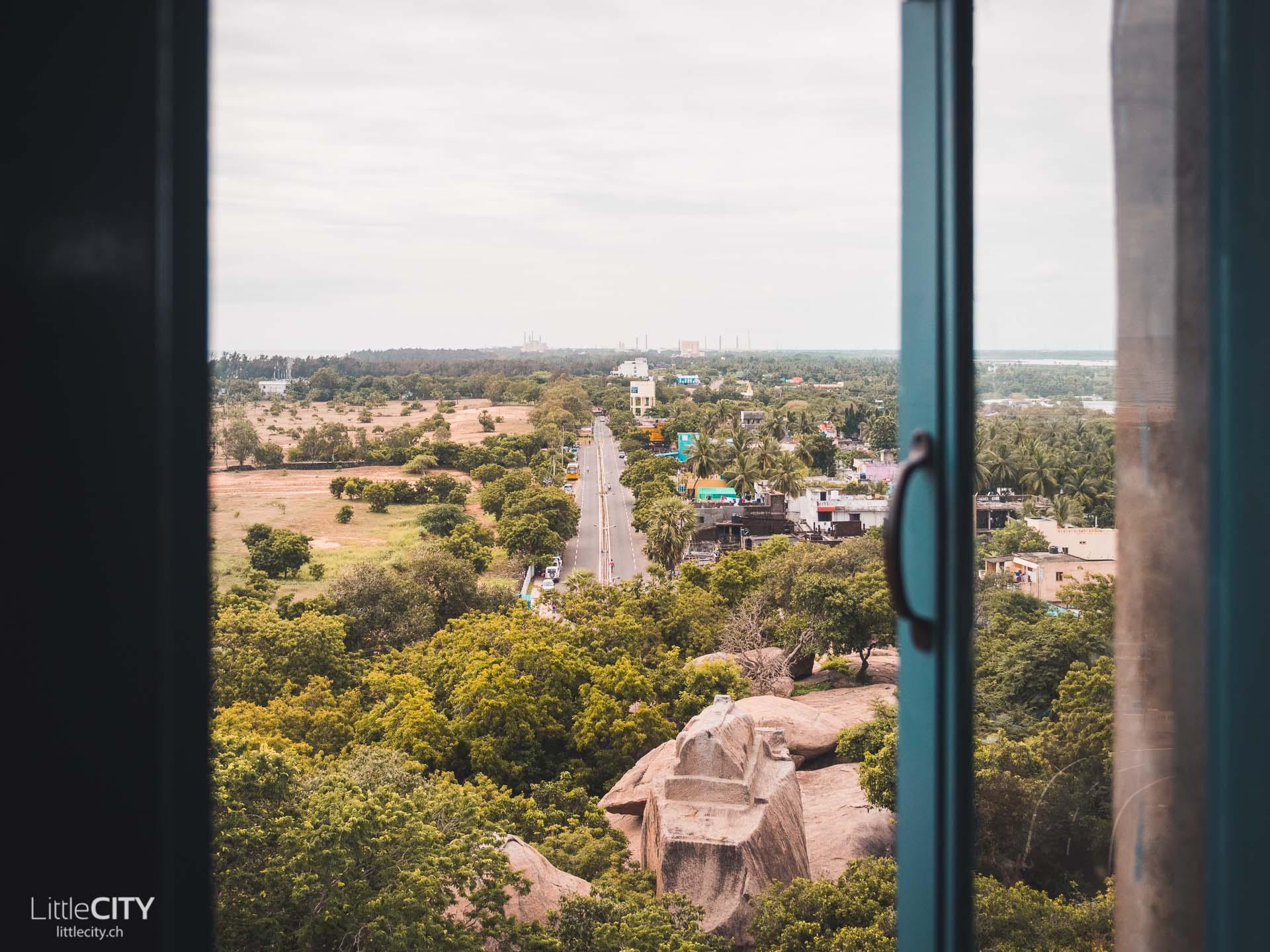 Mahabalipuram Leutturm Aussicht Indien