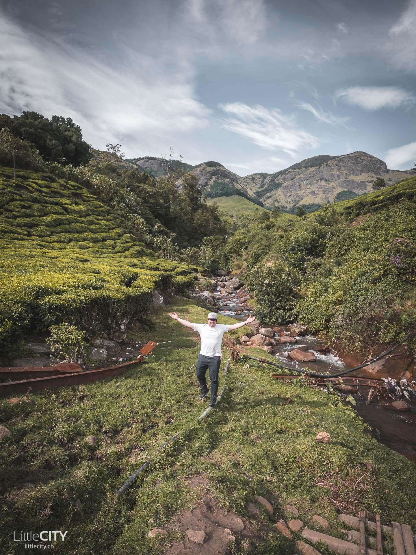 Munnar Kerala Teeplantage Sehenswürdigkeit
