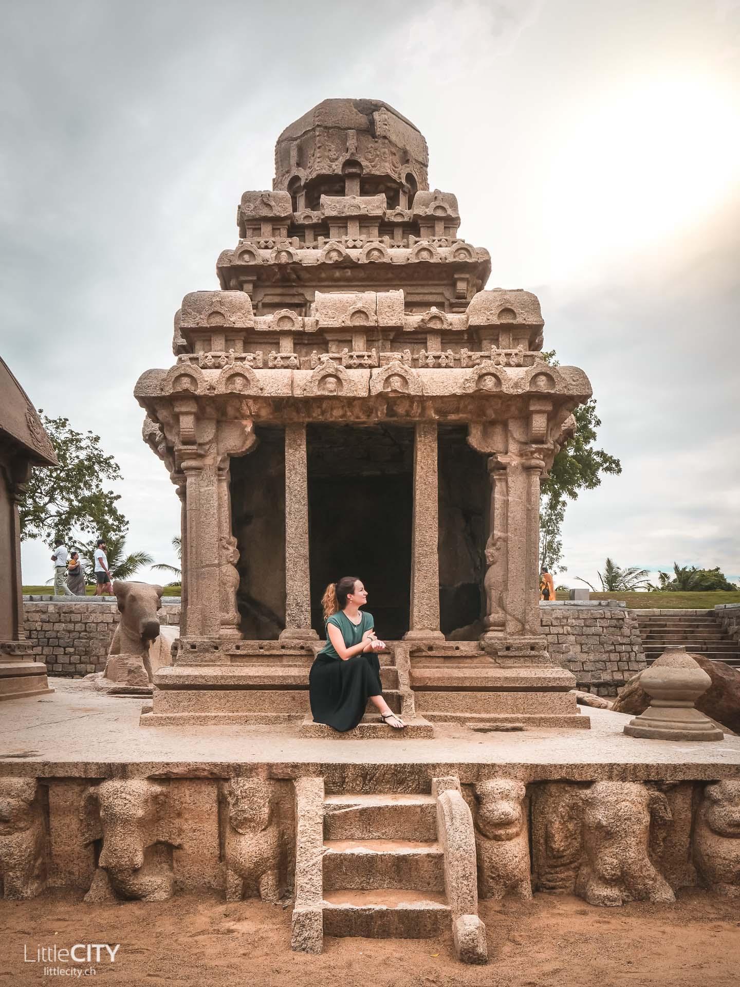 Südindien Reise Mamabalipuram