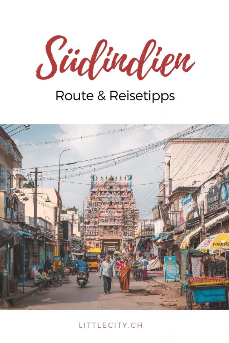 Südindien Reisetipps Route