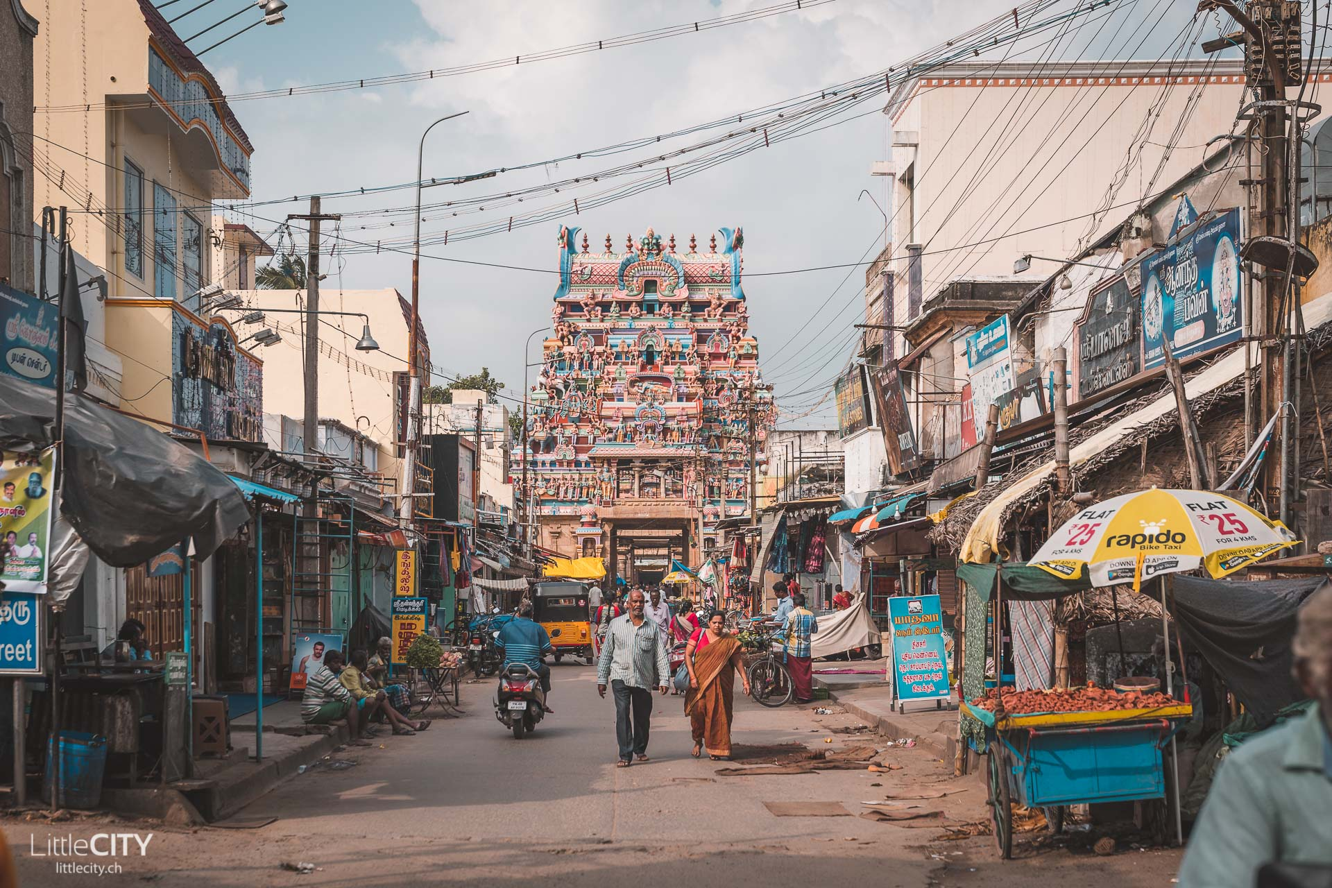 Sri-Ranganathaswamy-Tempel Srirangam Indien