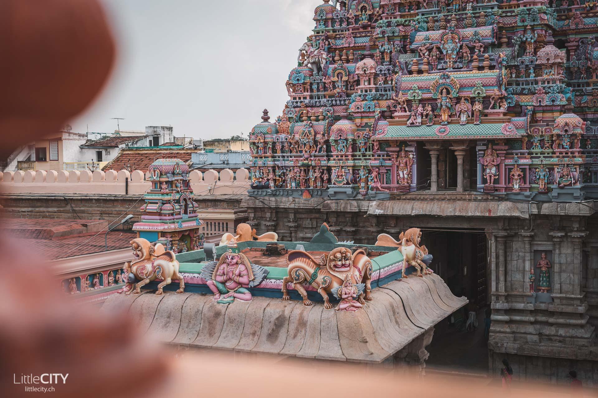 Srirangam Tempel Sehenswürdigkeiten Südindien