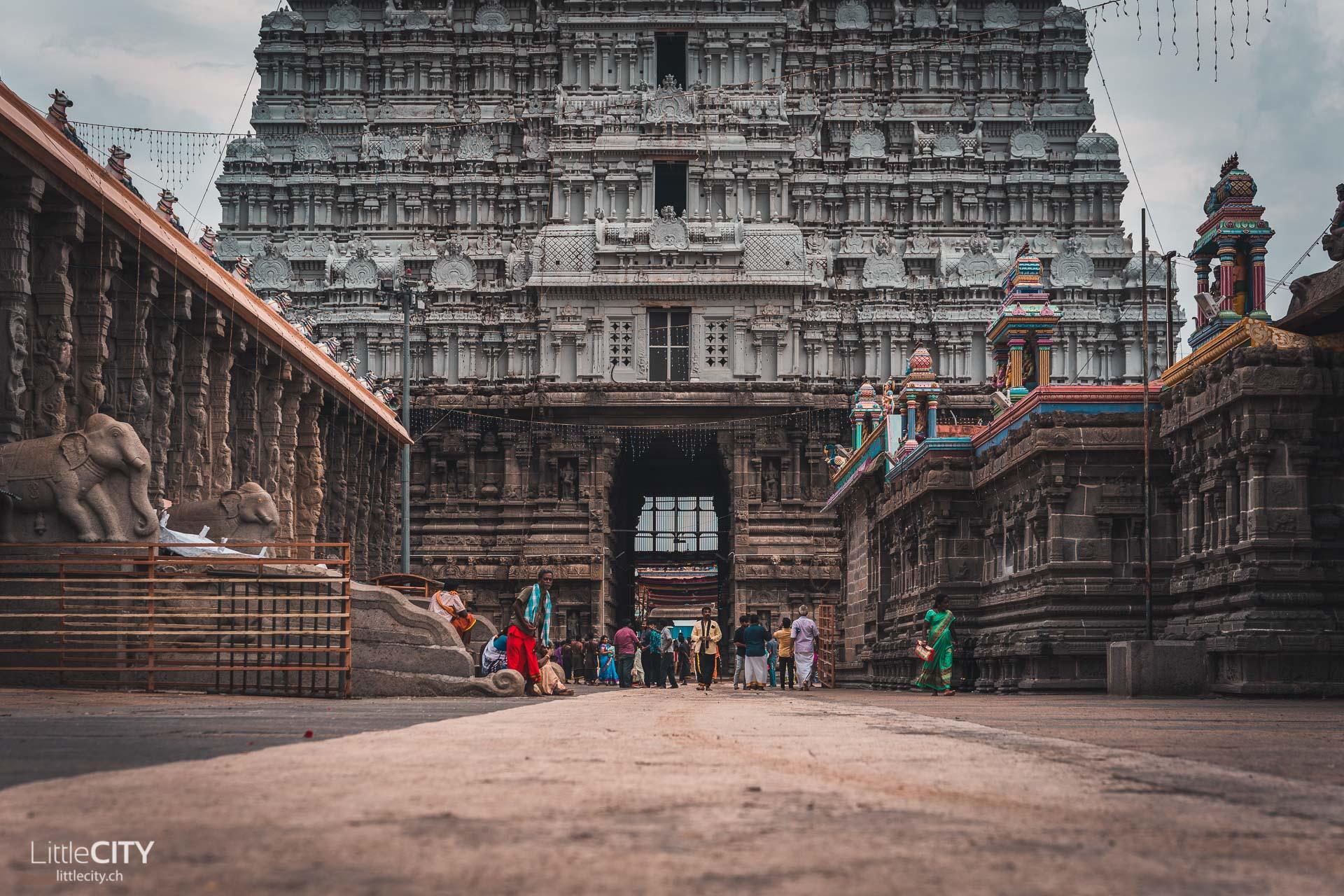 Arunachaleshwar-Tempel Tiruvannamalei Indien