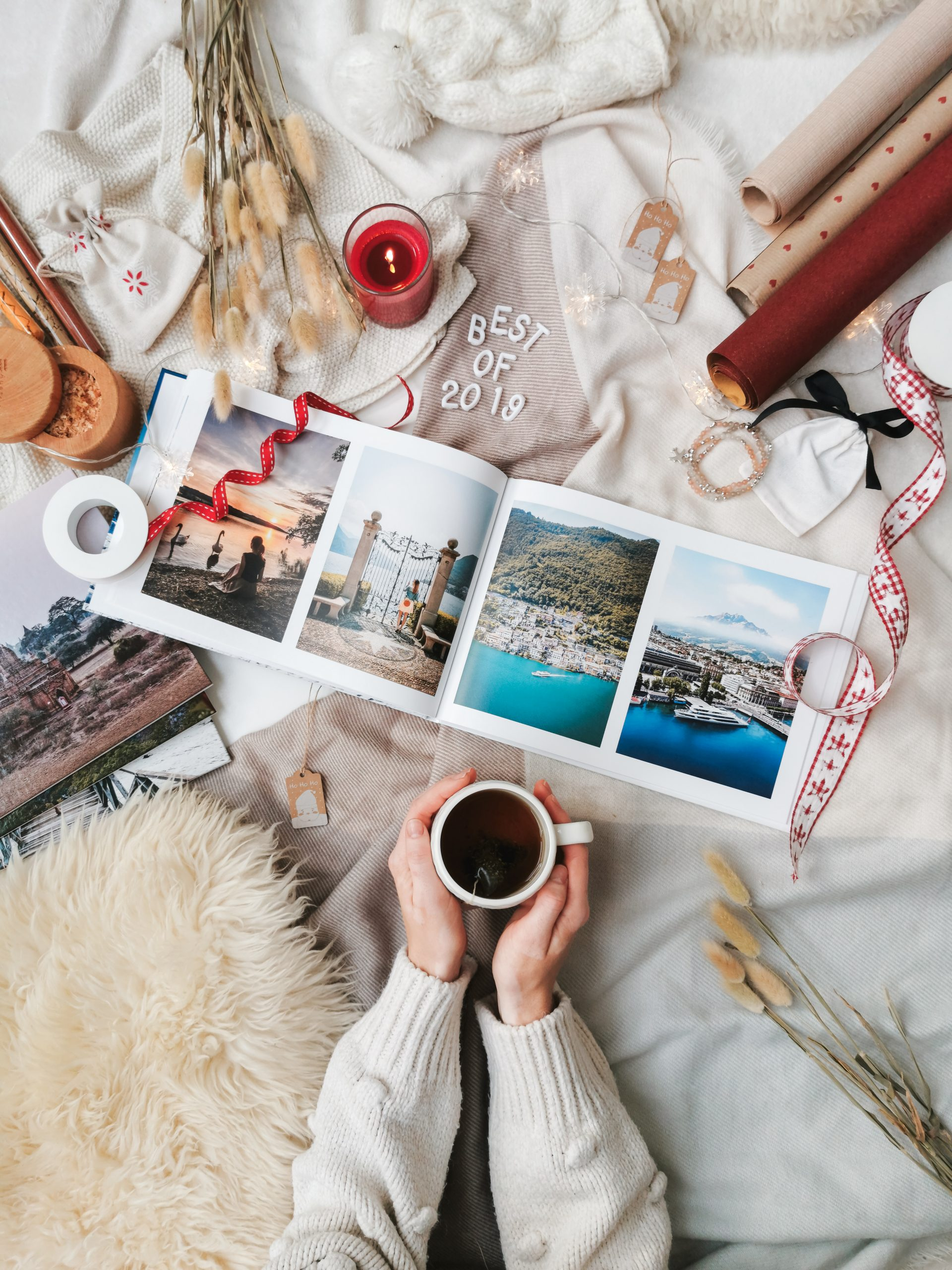 Langeweile zu Hause fotobuch