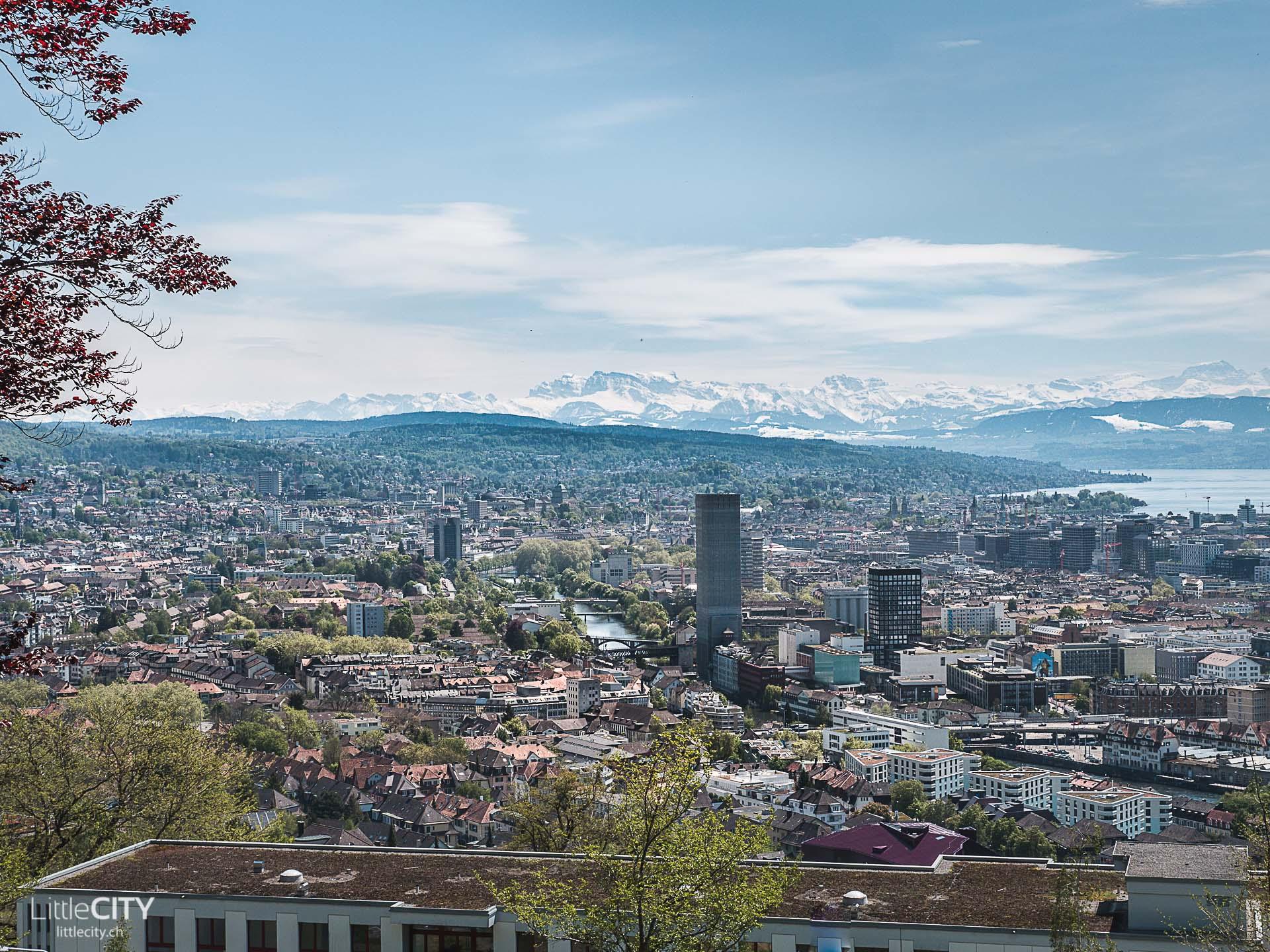 Zürich Aussichtspunkt Waid
