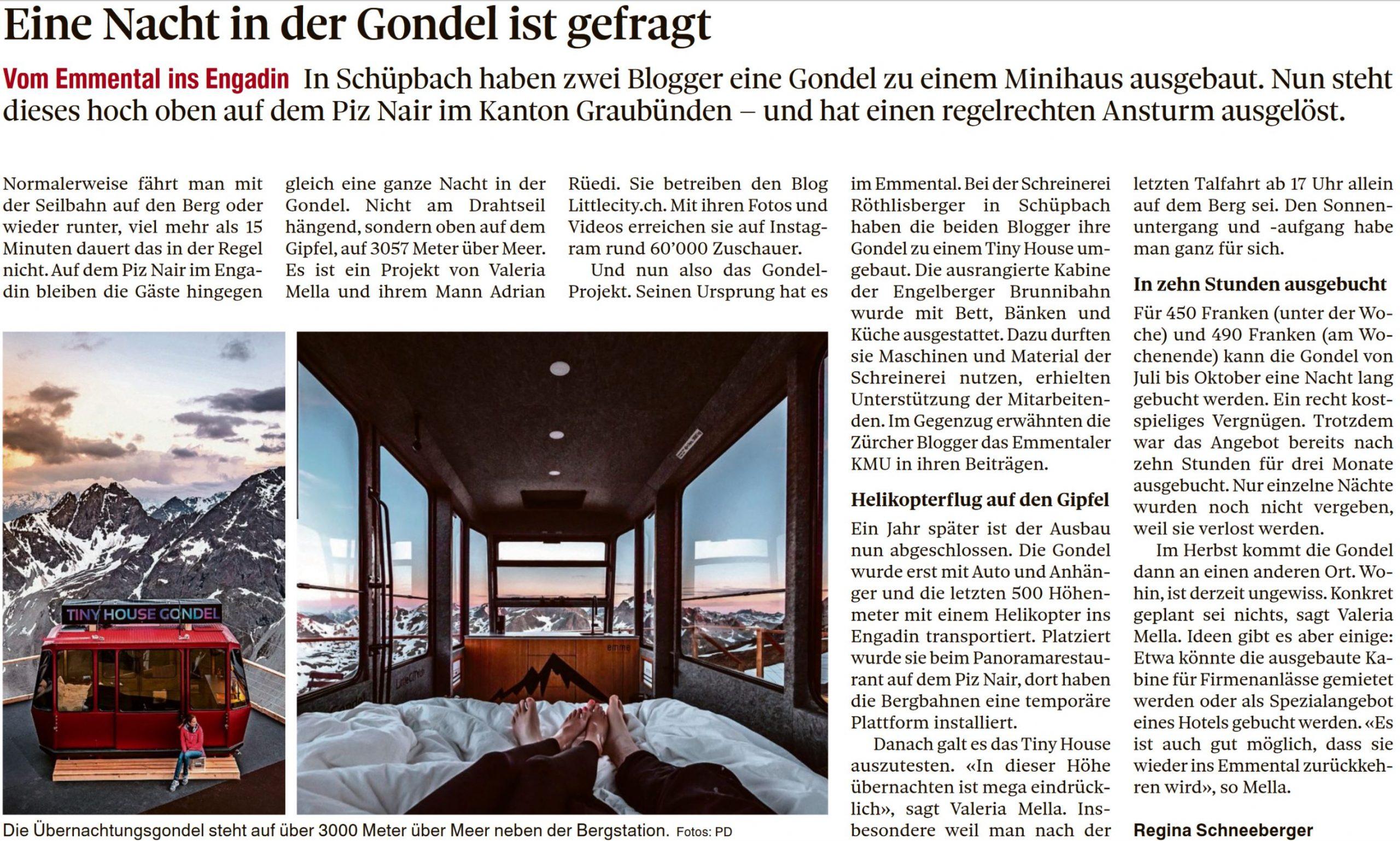 Berner Zeitung LittleCITY