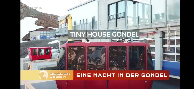 RTL Punkt 12 Tiny House Gondel