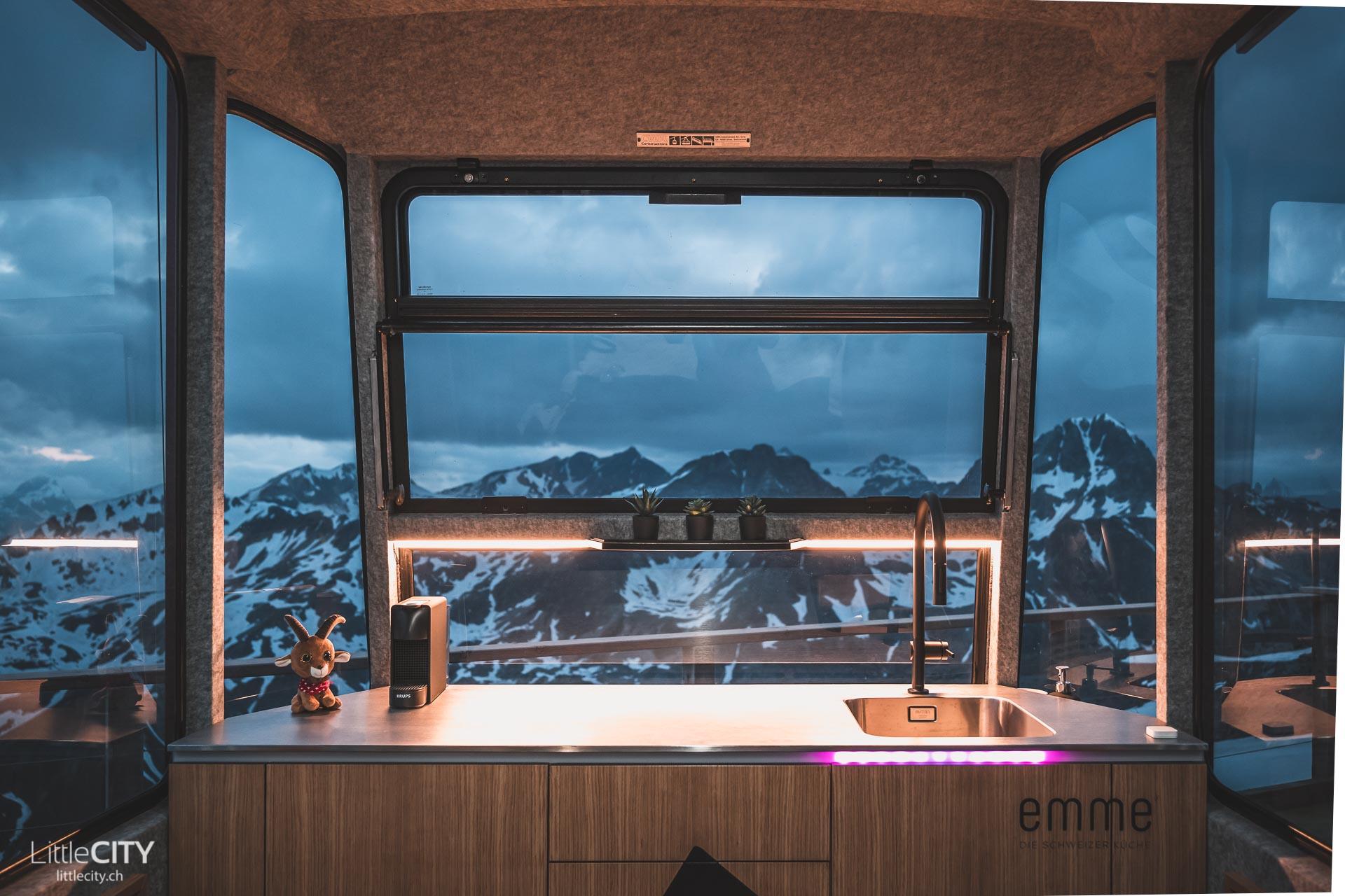 Tiny House Gondel Emme Küche