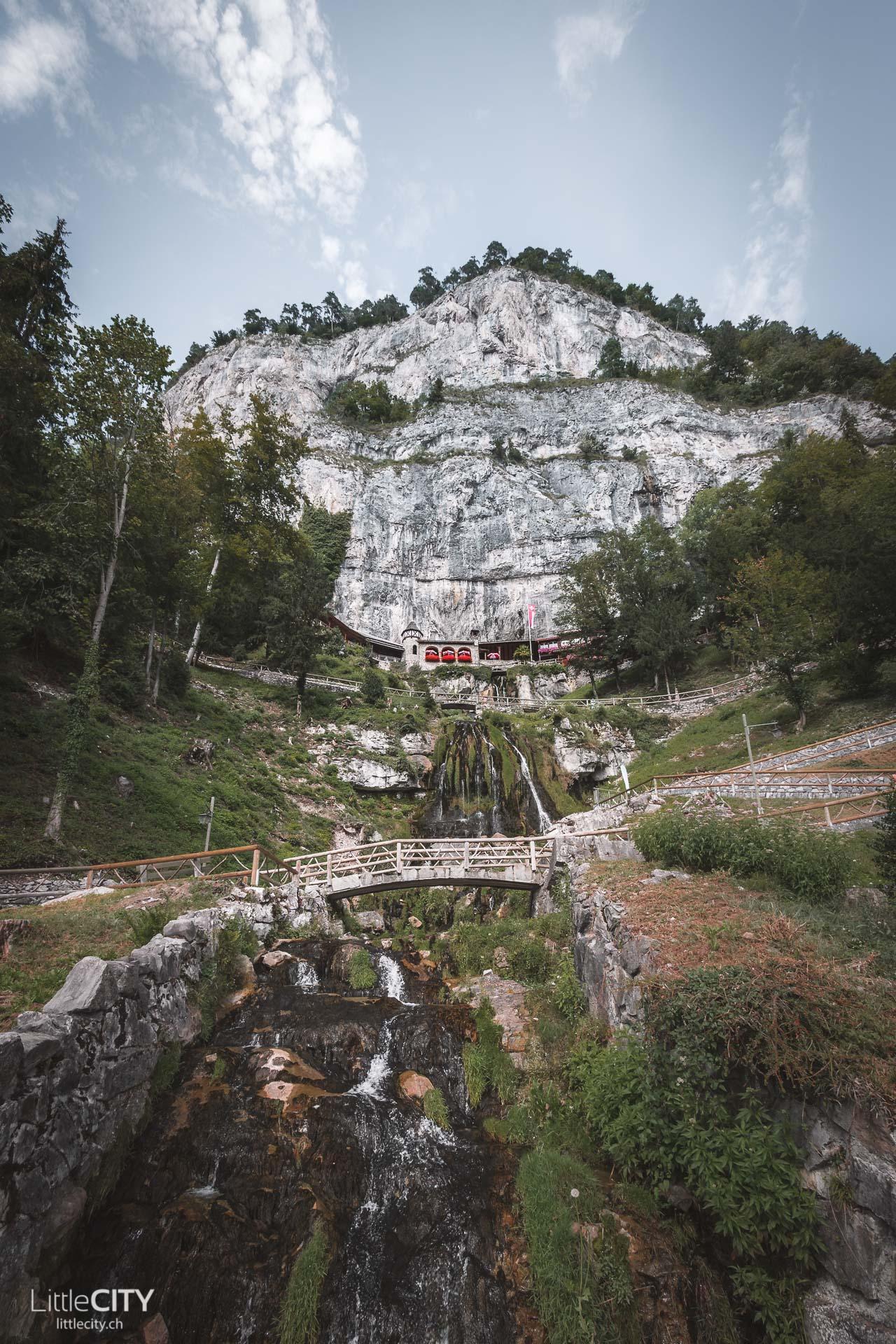 St. Beatus-Höhlen am Thunersee Ausflugsziel
