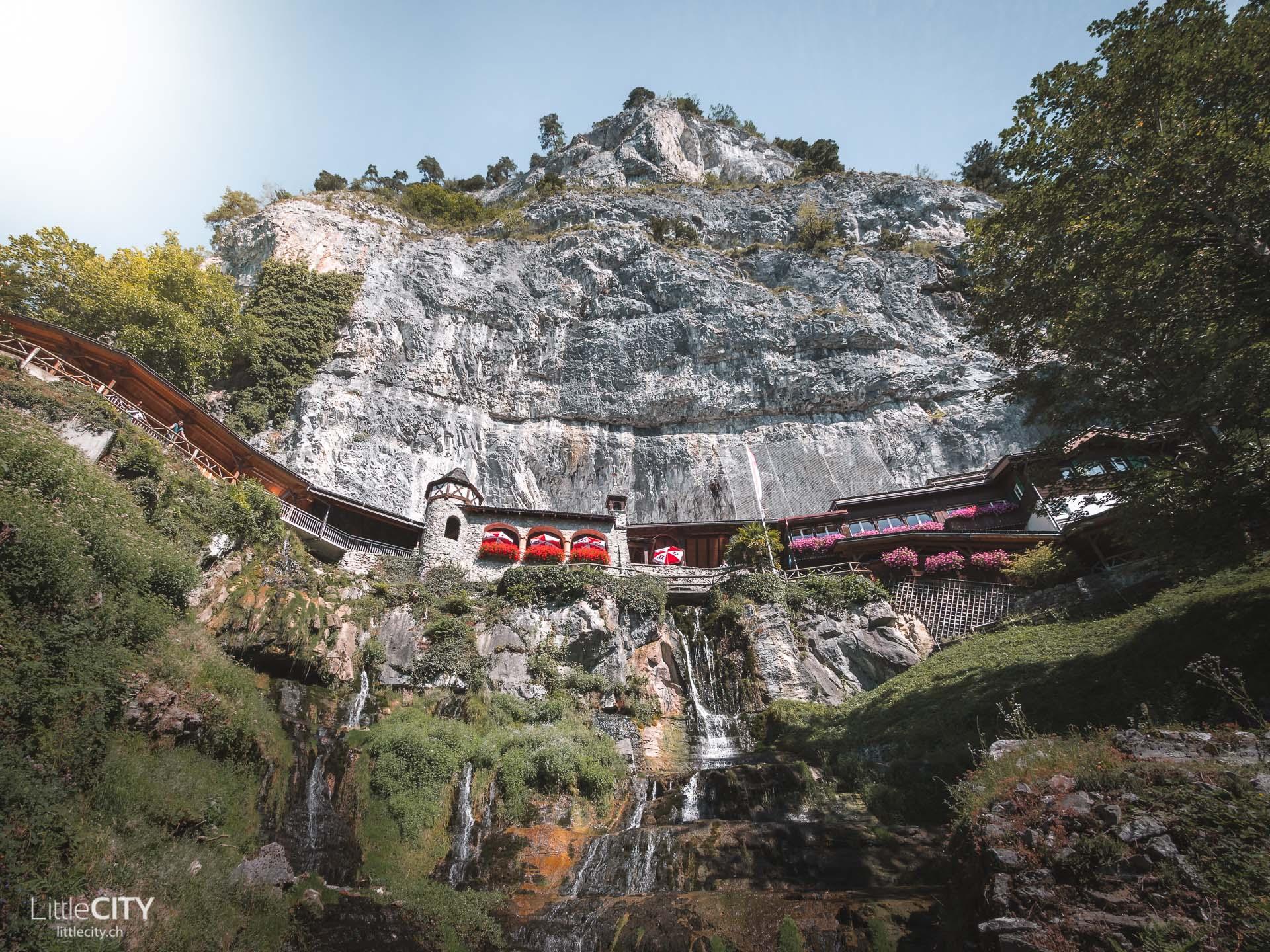 St. Beatus-Höhlen Thunersee Ausflugsziel