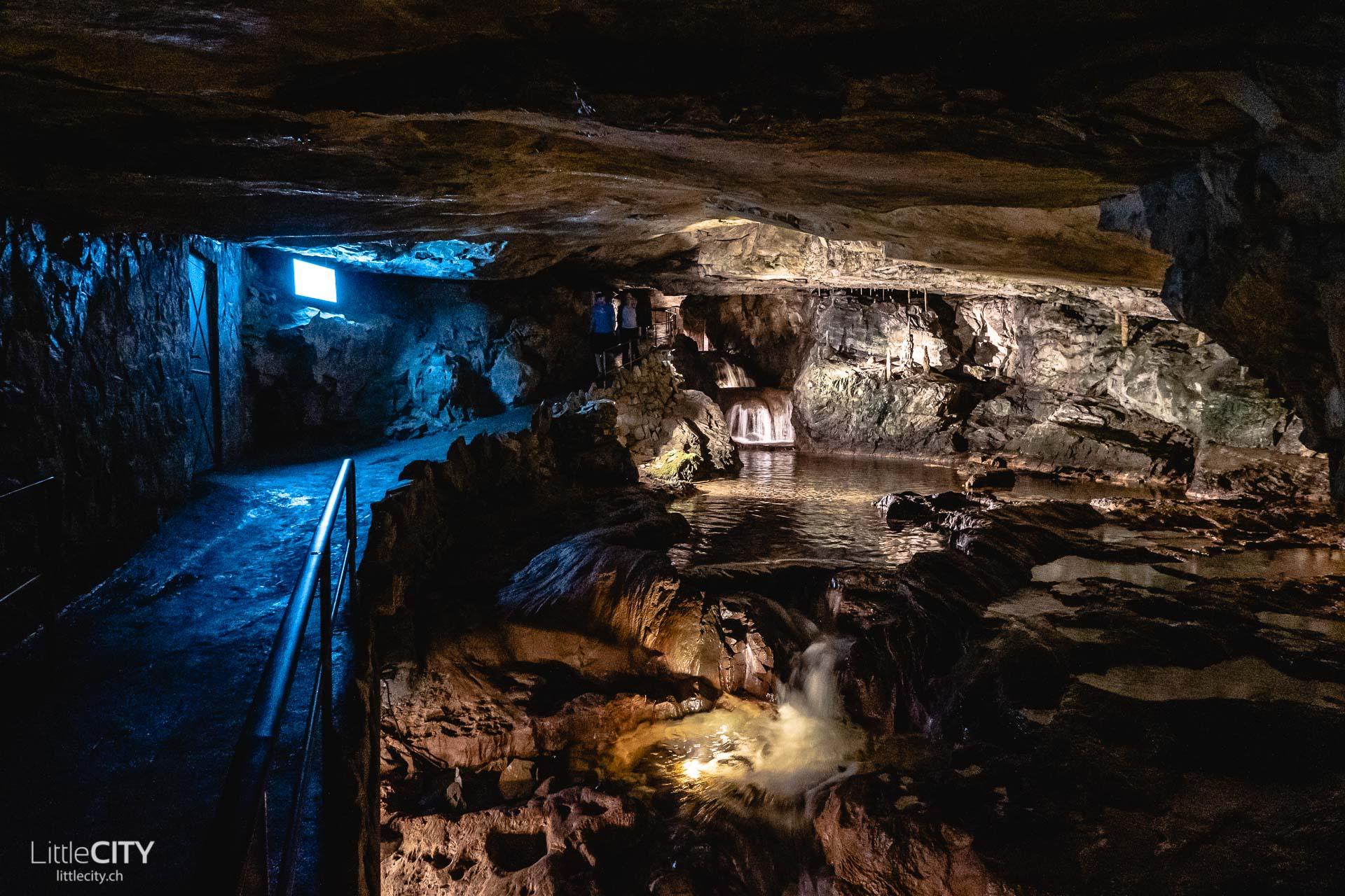 St Beatus Höhlen