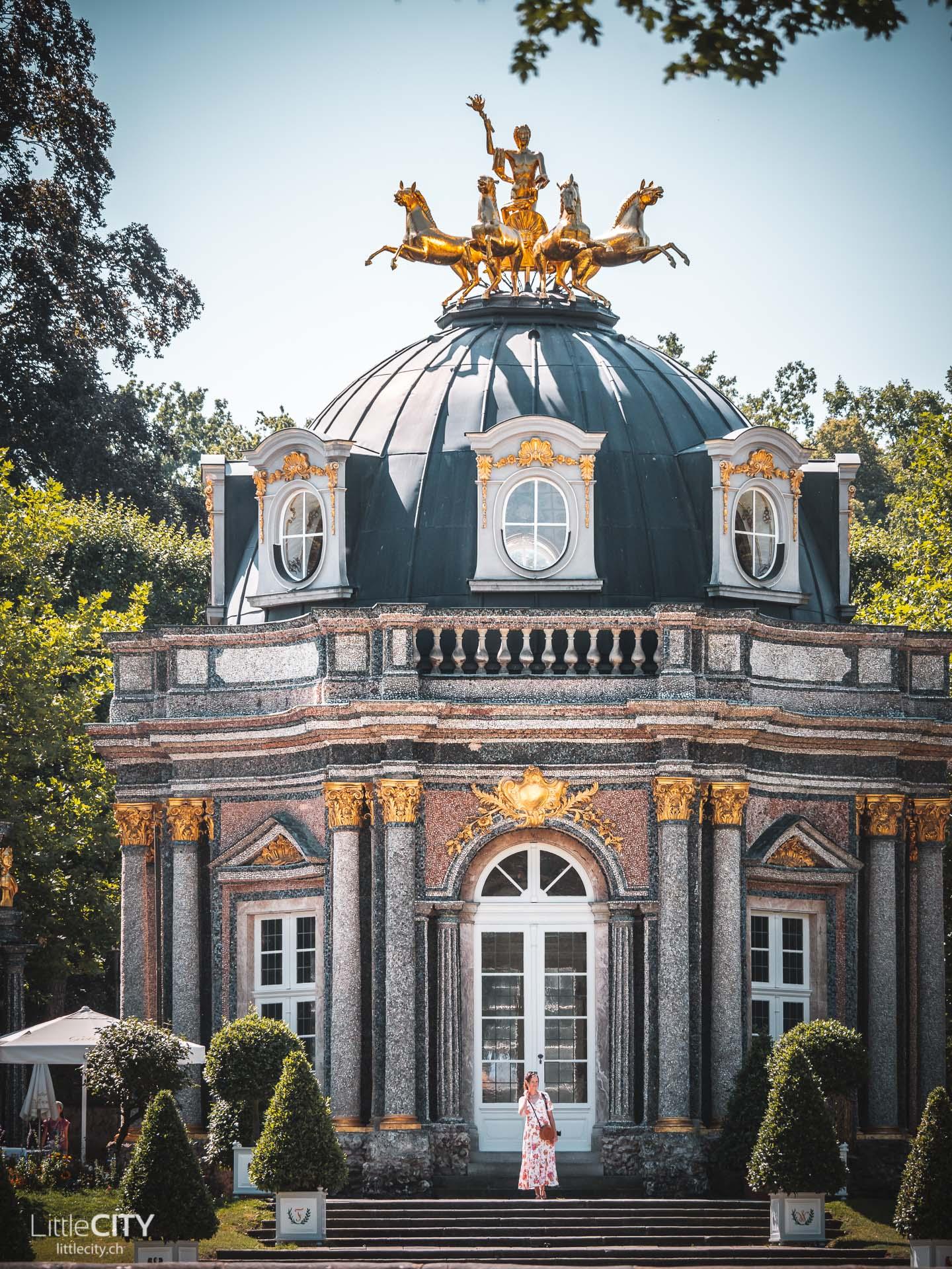Eremitage Bayreuth Schloss und Park
