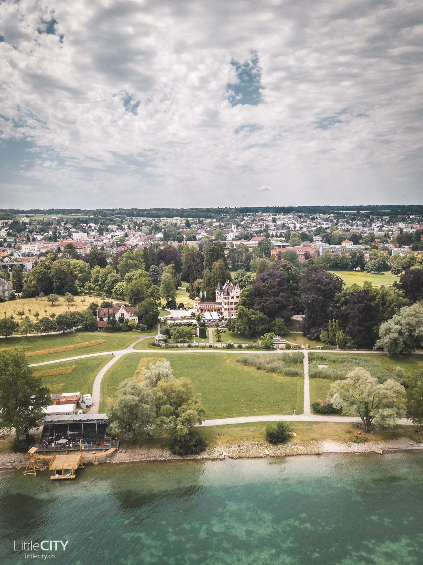 Park in Kreuzlingen am Bodensee