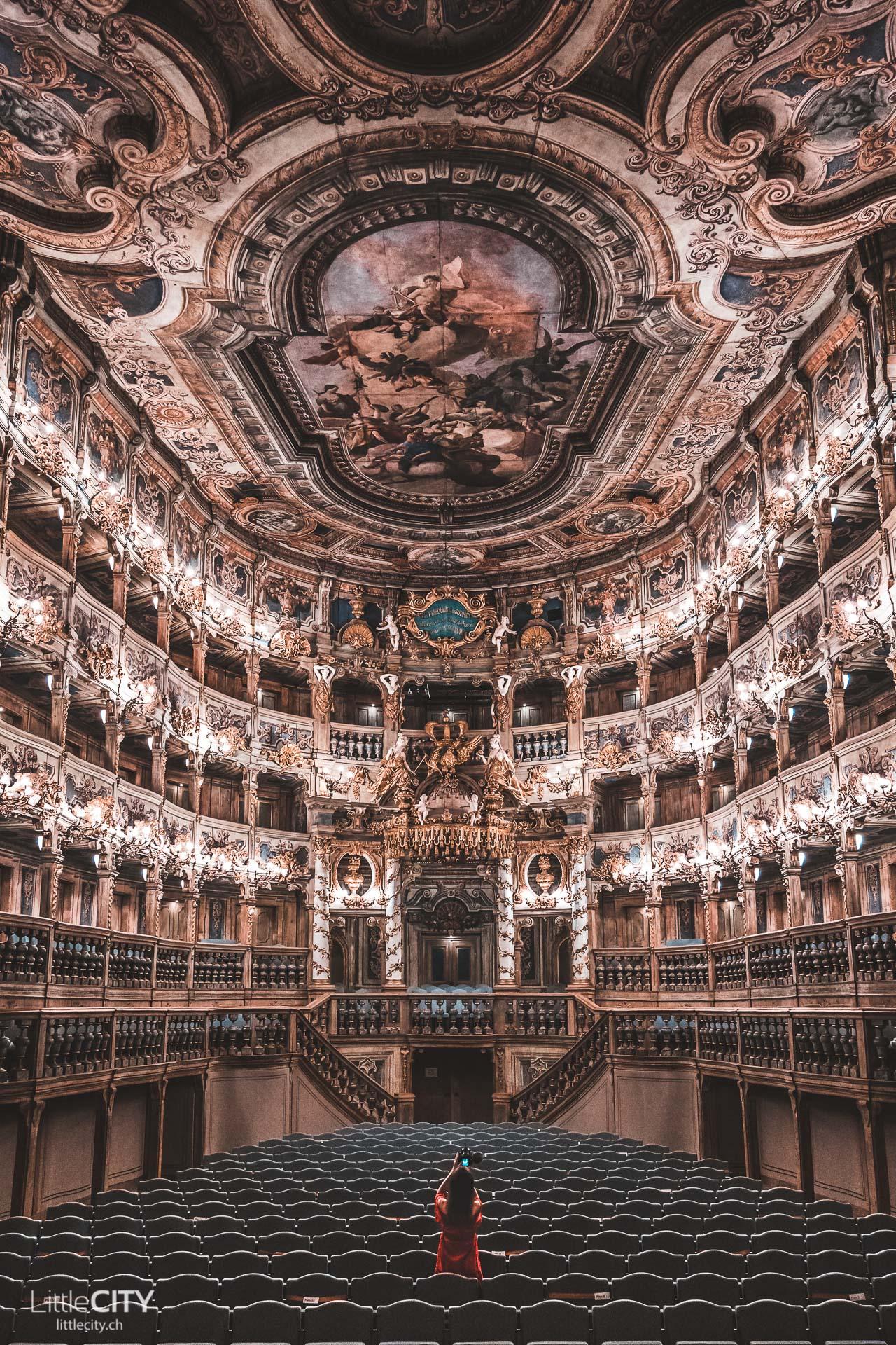 Marktgräfliches Opernhaus Bayreuth Sehenswürdigkeiten