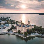 Schloss Schwerin Märchenschloss auf einer Insel