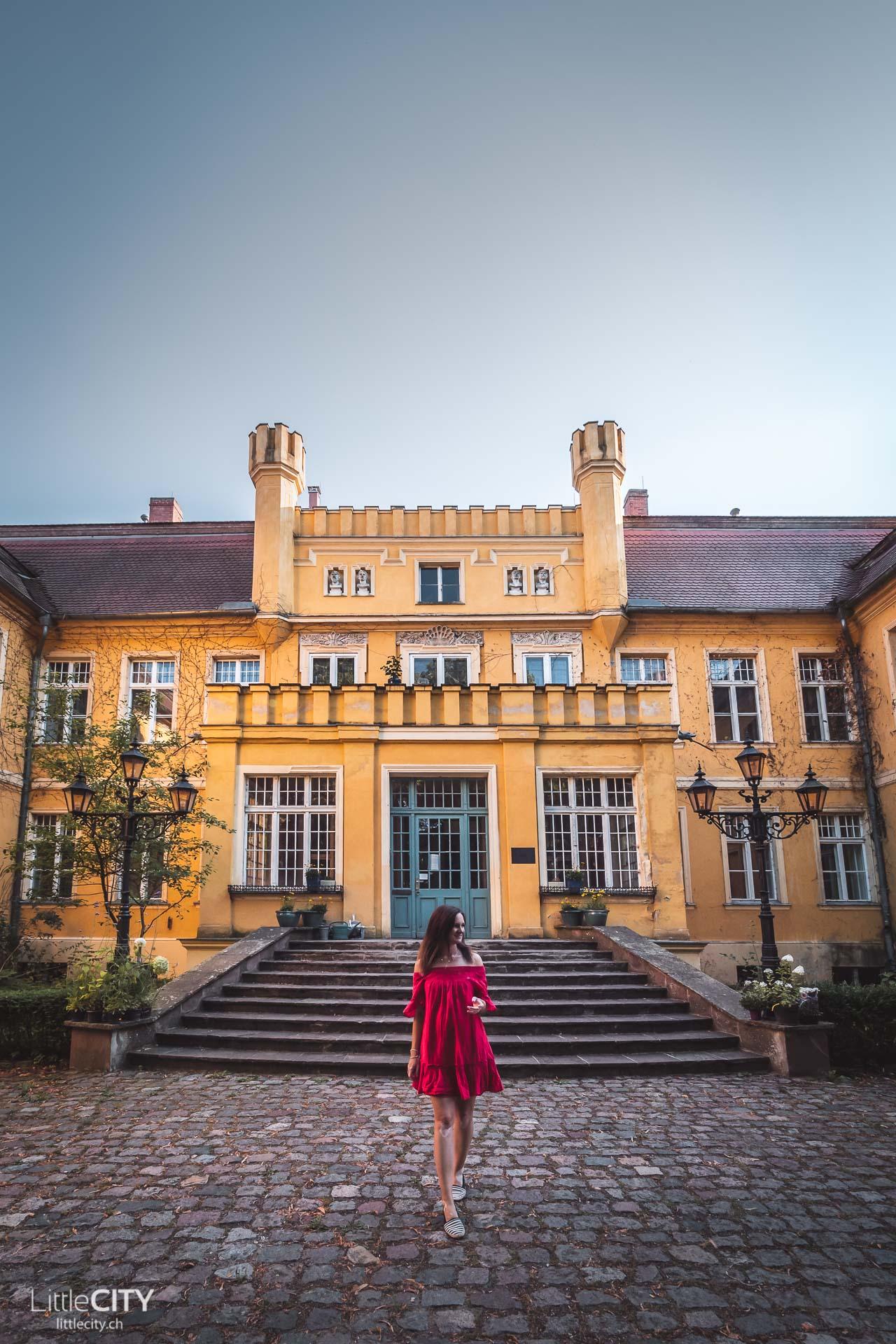 Schloss Airbnb Wartin in Casekow