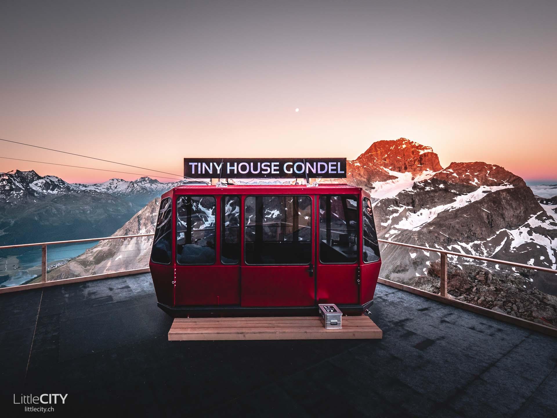 Tiny House Gondel Piz Nair