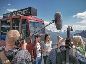RTL Interview Tiny House Gondel