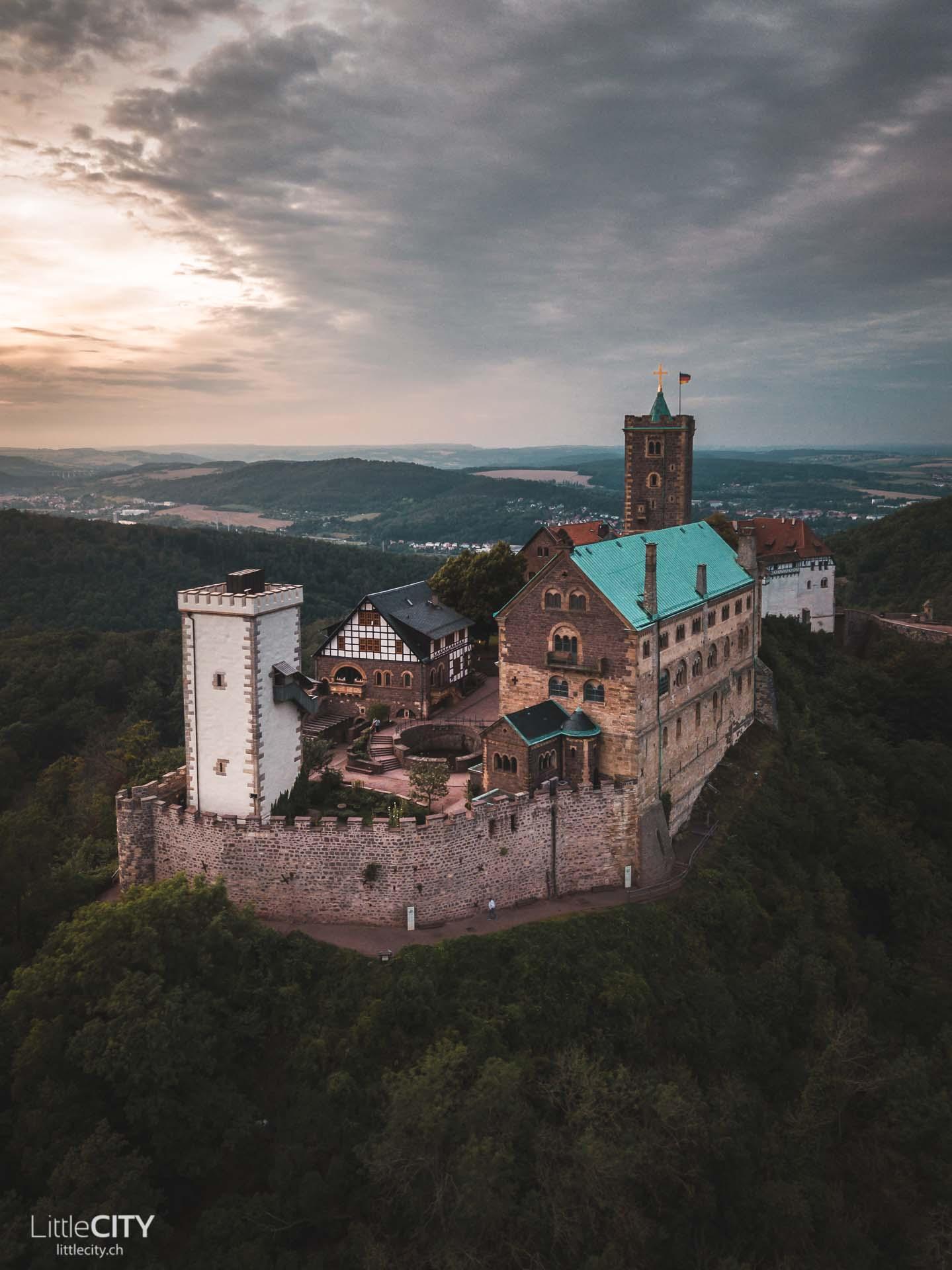 Wartburg in Eisenach Thüringen