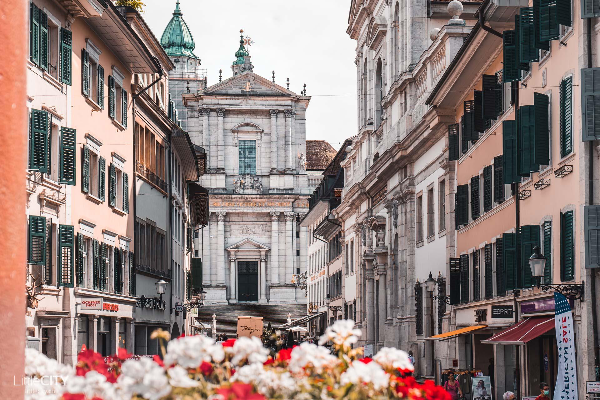 Solothurn Altstadt Kathedrale