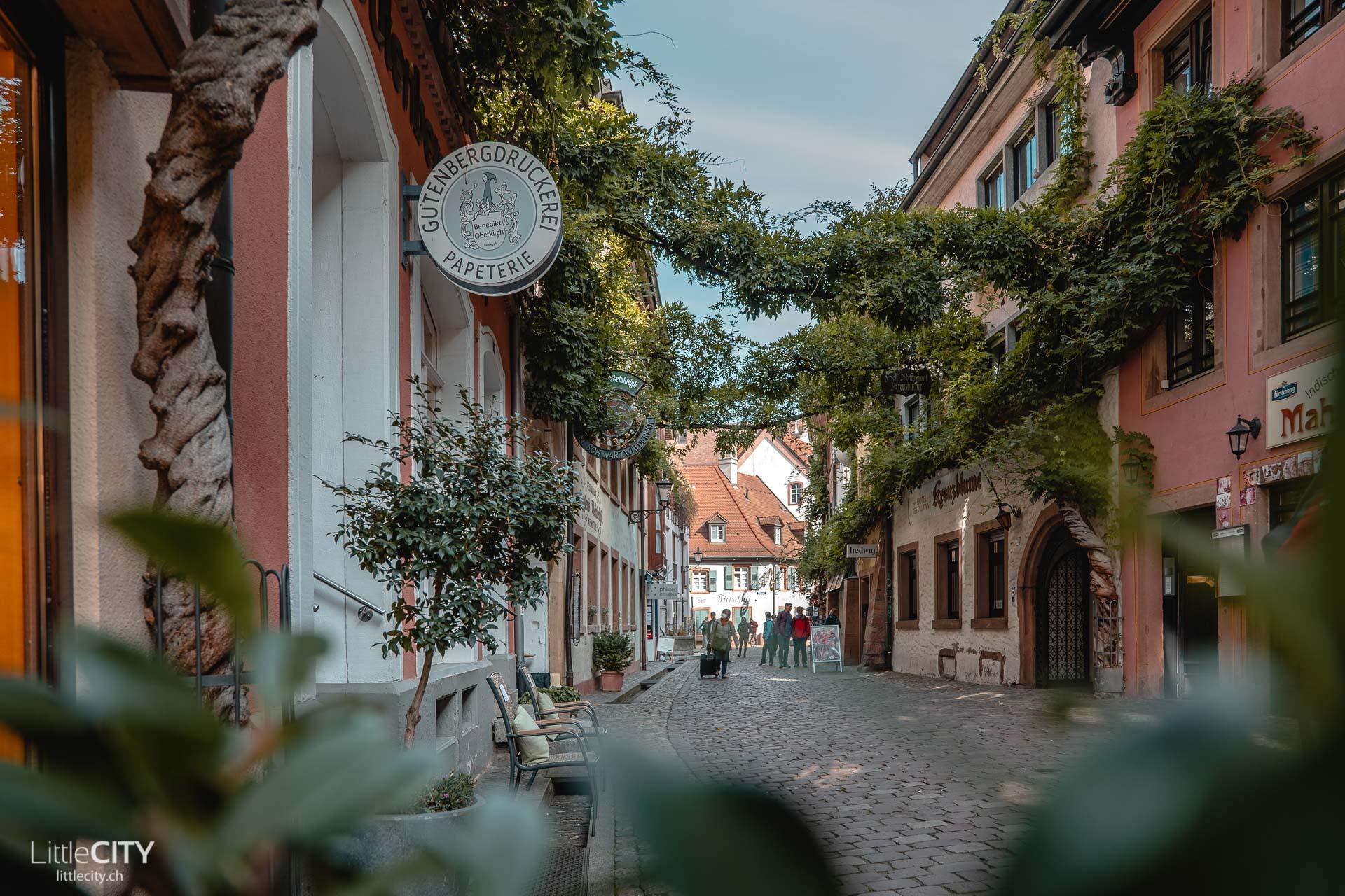 Konviktstrasse Freiburg im Breisgau Sehenswürdigkeit