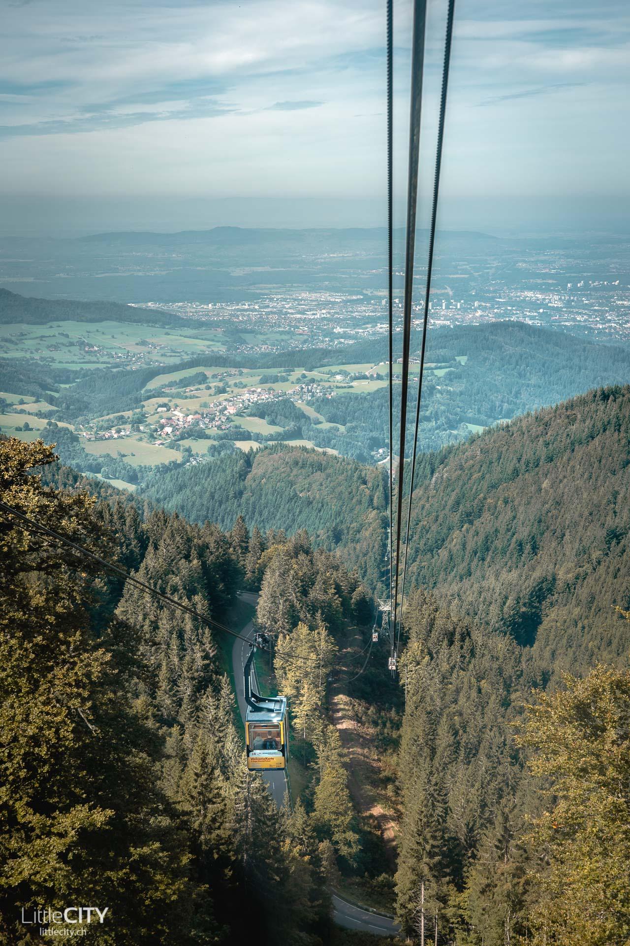 Freiburg Aussichtspunkt Schauinsland